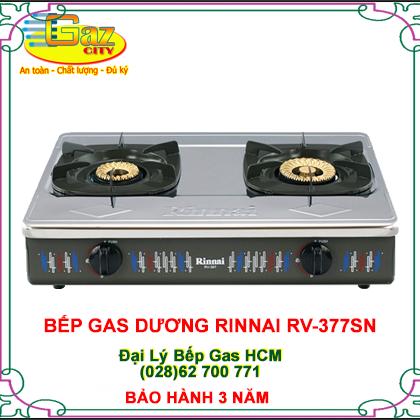 BẾP GA DƯƠNG RINNAI RV-377SN | Cửa hàng Bếp Gas